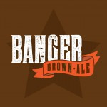 Banger Brown Ale Beer-Type Logo Design