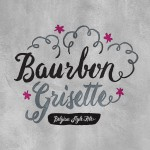 Baurbon Beer-Type Logo Design