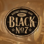 Black No. 7 Beer-Type Logo Design