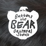 Buttons the Bear Beer-Type Logo Design