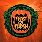 Feast of Flesh Ale Beer-Type Logo Design