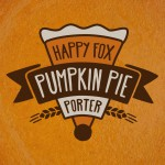 Happy Fox Porter Beer-Type Logo Design