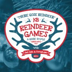 KB Reindeer Games Beer-Type Logo Design