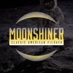 Moonshiner Pilsner Beer-Type Logo Design