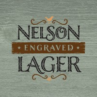 Nelson Engraved Beer-Type Logo Design