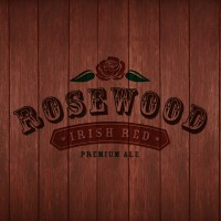Rosewood Beer-Type Logo Design