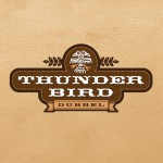 Thunderbird Beer-Type Logo Design